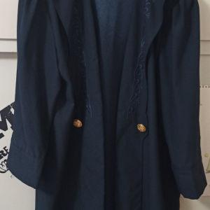μπλε σακάκι Large