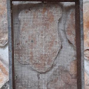 συλλεκτικό ασταπονη για να βγάζαν τετράγωνο το το σιτάρι Η ττο τραχανάς εποχής 1880 1920