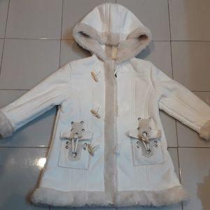 Παλτό εκρού