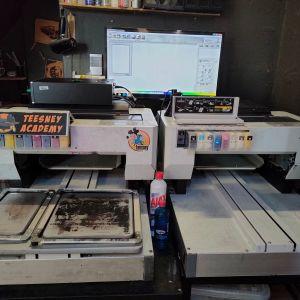 Εκτυπωτές TexJet PLUS Polyprint για απευθείας εκτύπωση στα ρούχα.