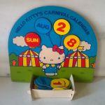 Hello Kitty's Carnival calendar - Sanrio 1976
