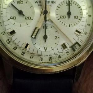 Wakmann chronograph Triple date calendar valjoux 72