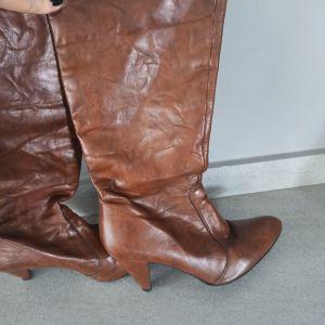 Ταμπά δερμάτινες μπότες