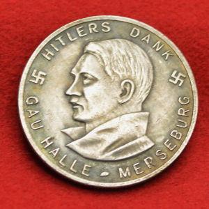 Αναμνηστικό Γερμανικό μετάλλιο 1933-1934 προς τιμήν του Χίτλερ.
