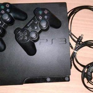 Sony PlayStation 3 Slim CECH-3004A 160GB Console - Black