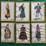 Γραμματόσημα 1972/1973/1974 Έκδοση Εθνικές Ενδυμασίες