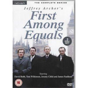 3 DVD SET  / FIRST AMONG EQUALS  / THE COMPLETE SERIES / ΧΩΡΙΣ ΥΠΟΤΙΙΛΟΥΣ