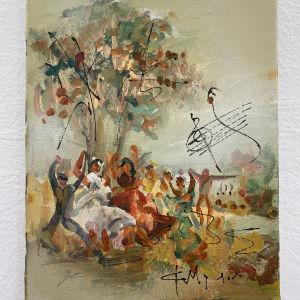 Ελαιογραφία της Ζωγράφου Φ. Μουρατίδου