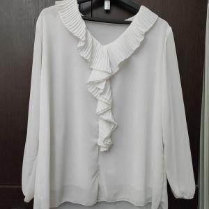 Άσπρη πουκαμίσα camelot