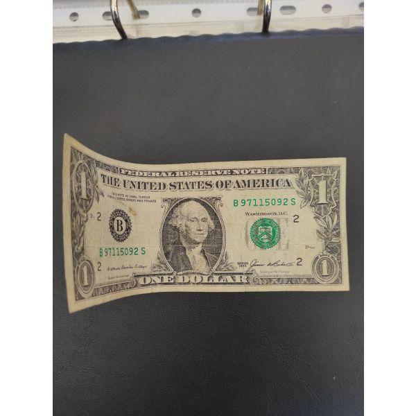 ameriki 1 dollario 1985