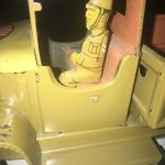Νικολαιδης τσίγκινο παιχνίδι , φορτηγό σπανιο χρώμα
