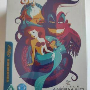 Η Μικρή Γοργόνα The Little Mermaid Blu-ray Steelbook χωρίς ελληνικούς υπότιτλους