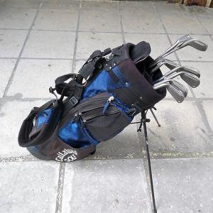 Σετ 8 μπαστούνια του golf μαζί με τσάντα.