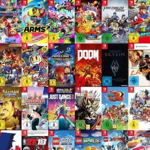 Nintendo Switch games συλλογή