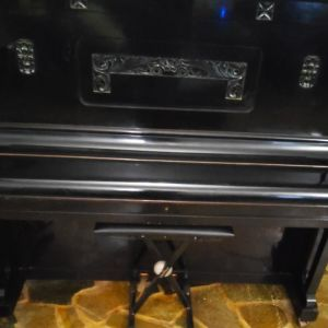 Friedrich   Ehrbar  Vintage Upright Piano