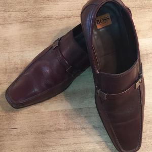 BOSS παπούτσια ανδρικά, καφέ, Νο 42