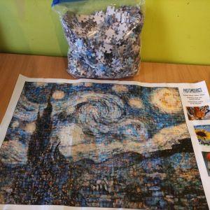 Παζλ 1500 κομμάτια με θέμα πίνακα του Van Gogh