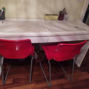 Γραφείο δύο θέσεων  και 2 καρέκλες