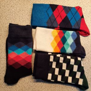 4 ζευγάρια κάλτσες Happy Socks