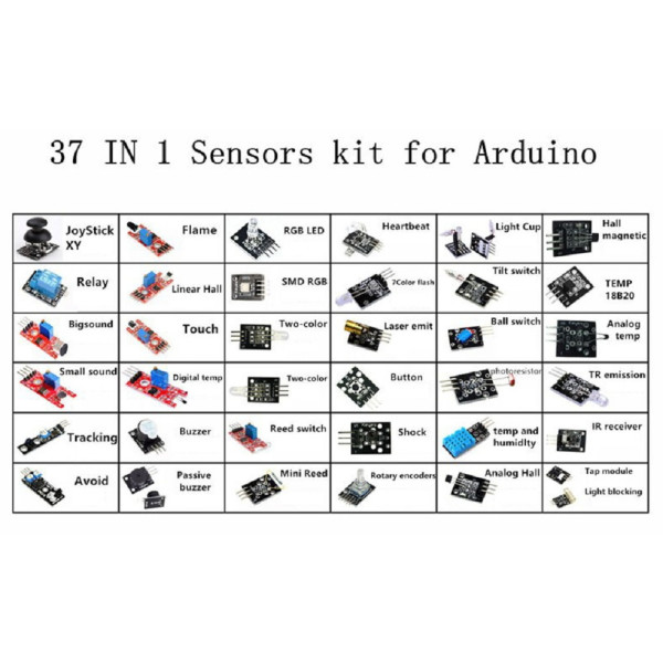 Geekcreit Arduino Kit - 37  se 1