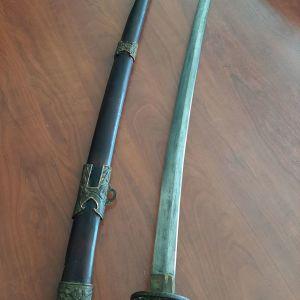 """ΑΥΘΕΝΤΙΚΟ ΧΕΙΡΟΠΟΙΗΤΟ ΞΙΦΟΣ ΑΝΤΙΚΑ SAMURAI KATANA ΑΓΟΡΑΣΜΕΝΟ ΑΠΟ ΙΑΠΩΝΙΑ. Samurai Tachi Sword """"Sukesada"""" Japanese Katana Nihonto"""