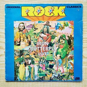 IRON BUTTERFLY - Live (1970) Δίσκος Βινυλίου Classic Hard Rock
