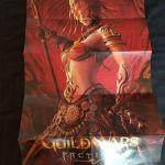 Guild Wars Faction poster Αυθεντικη αφισα συλλεκτικη δυο πλευρων απο το υπερτατο rpg παιχνιδη που υπηρξε ποτε