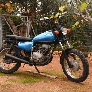 Μοτοσυκλέτα HONDA CM 200cc