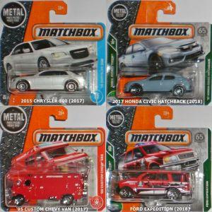 Αυτοκινητάκια Matchbox (Κυκλοφορίες 2013-2019)
