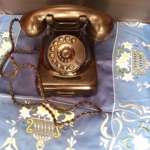 Vintage τηλεφωνο παλιο με κυκλικό καντράν, made in Germany