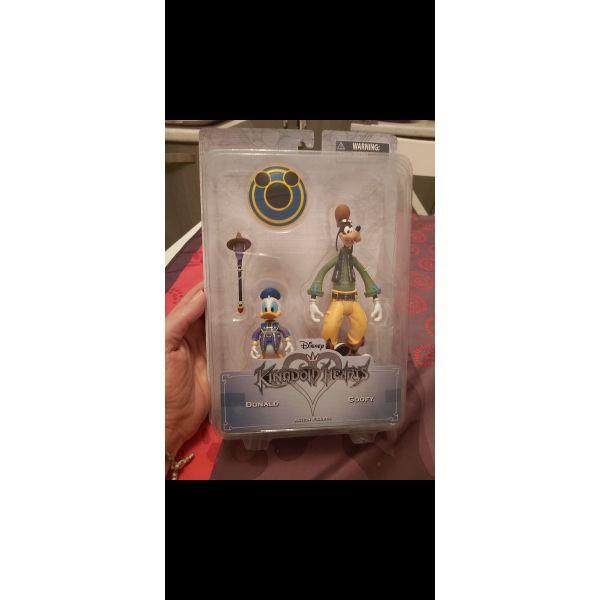 polite figoura Kingdom Hearts Disney - Donald & Goofy.