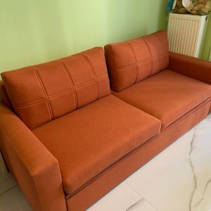 Καναπές-κρεβάτι τριθέσιος