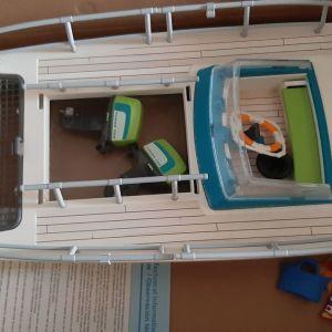 Παιχνίδια  playmobil κρουαζιερόπλοιο και καταμαράν