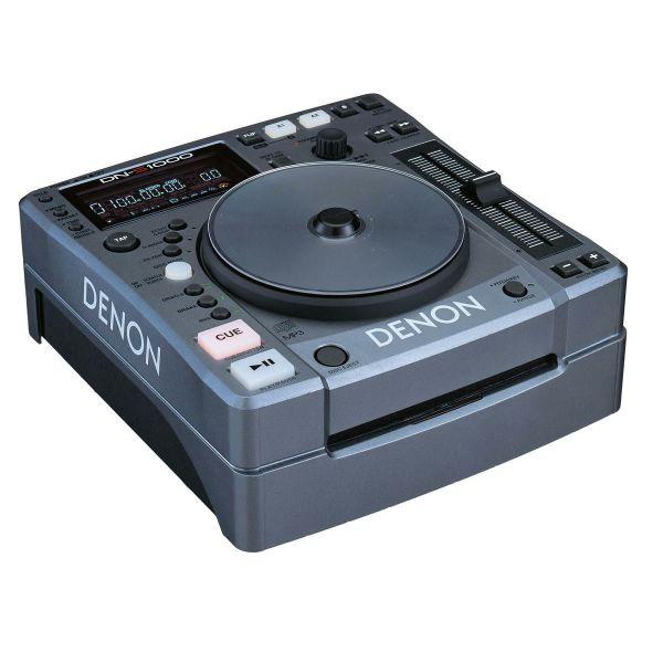 DENON DNS-1000 , set 2 epangelmatika Cd Player gia DJ + 2kanalos miktis BEHRINGER
