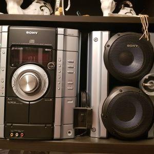 Sony  MHC RG222 στερεοφωνικό με τηλεχειριστήριο και κεραία