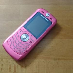 Κινητό Motorola L6 φούξια