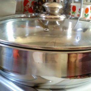 Κατσαρόλα IDMAR ανοξείδωτη με γυάλινο καπάκι