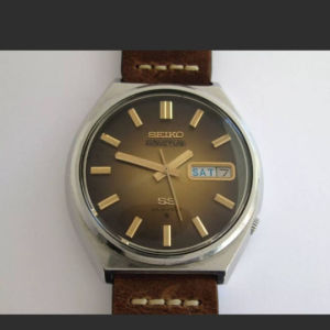 Seiko 5 Actus 6106-8690 Prisma Crystal Vintage Automatic Men's Watch 23 Jewels