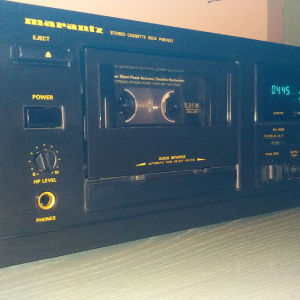 Marantz pmd502 ( professional tape deck rack mounted )