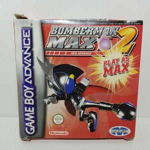 NINTENDO GAME BOY ADVANCE BOMBERMAN MAX 2 RED ADVANCE PAL