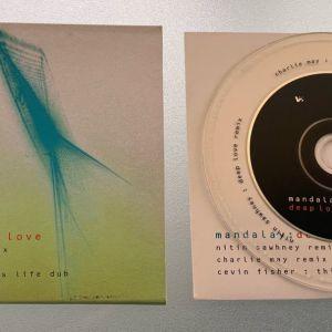 Mandalay - Deep love 3-trk cd single card