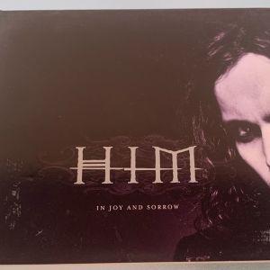 HIM - In joy and sorrow made in the E.U. 5-trk cd single