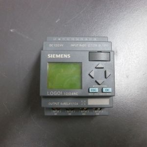 Λογικός ελεγκτής Siemens logo 12/24RC 4 ρελέ 10Α