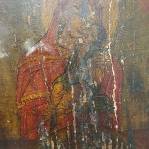 Εικόνα αντίκα Παναγίας Παντάνασσας