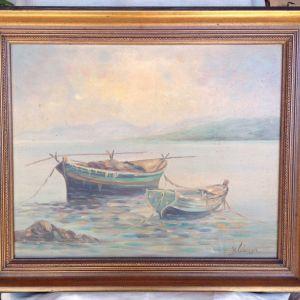 Πίνακες ελαιογραφίες του Κ.Λιάκου