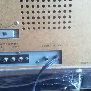 Sound design Vintage Stereo Receivers