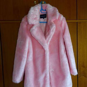 Γούνα ροζ απαλο