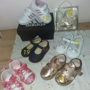 Βρεφικά παπουτσάκια Adidas, Geox, Mayoral