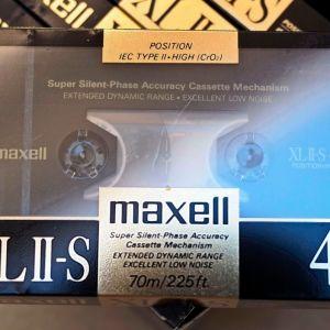 Κασέτες ήχου C46 Maxell Chrome XLII-S