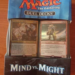 Duel decks: Mind vs Might  magic the gathering